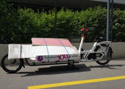 Transport XXL de Satigny à Cologny